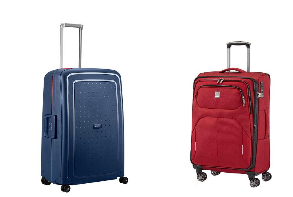 DIe richtige Koffergröße. Hartschale vs Stoffkoffer