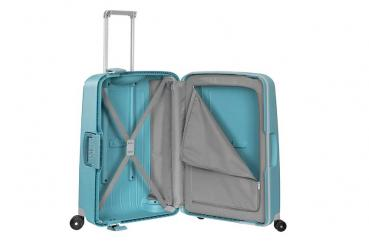 Samsonite S'CURE SPINNER 69/25 AQUA BLUE (10U11001) - bei kofferwelt.at