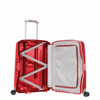 Samsonite S'CURE SPINNER 55/20 CRIMSON RED (10U10003) - bei kofferwelt.at