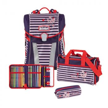 SCOUT Sunny Set 4 pieces Happy Stripes (73410622900) - bei kofferwelt.at