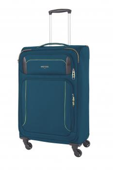 HW Airstream Trolley M 4-Rad Blau (60100141400) - bei kofferwelt.at