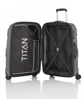 Titan X2 4w Suitcase M+ gunmetal shark (825407 85) - bei kofferwelt.at
