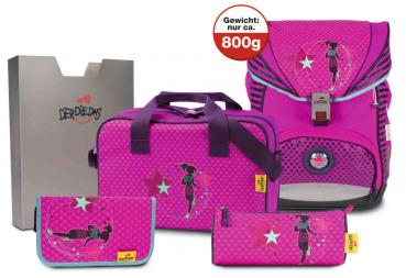 DerDieDas Ergoflex 800g Disco Star (8405078) - bei kofferwelt.at