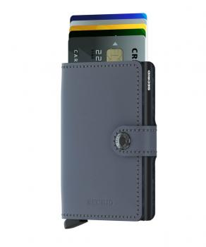Secrid MINIWALLET matte grey black (MM-GREY-BLACK) - bei kofferwelt.at