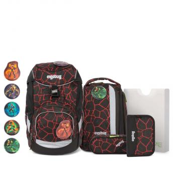 Ergobag Pack School Backpack Set SupBearhero NEW (ERG SET 002 9V0) - bei kofferwelt.at