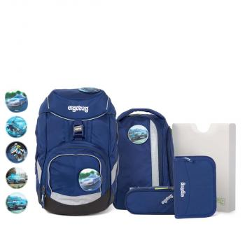 Ergobag Pack School Backpack Set InspectBear NEW (ERG SET 003 301) - bei kofferwelt.at