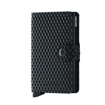 Secrid MINIWALLET Cubic Black (MCU BLACK) - bei kofferwelt.at