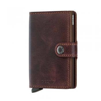 Secrid MINIWALLET Vintage chocolate (MV-CHOCOLATE) - bei kofferwelt.at