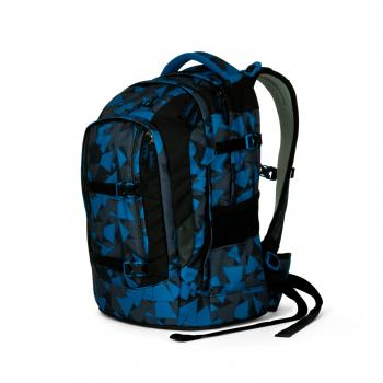 SATCH Pack School Backpack Blue Triangle (SAT SIN 002 9D6) - bei kofferwelt.at