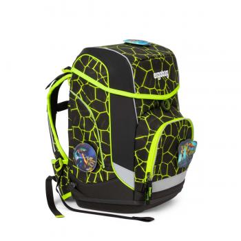 Ergobag Cubo School Backpack Set Dragen RideBear LUMI-Edition NEW