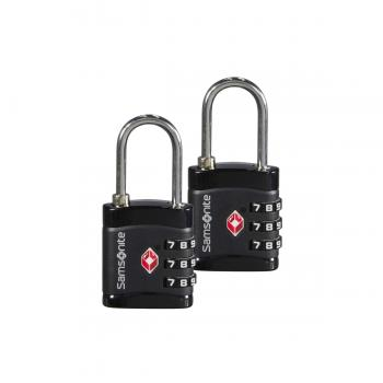 Samsonite Padlock 3Dial TSA black (121299 1041) - bei kofferwelt.at