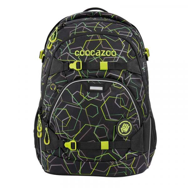 Coocazoo ScaleRale Laserbeam Black School Backpack (183879) - bei kofferwelt.at