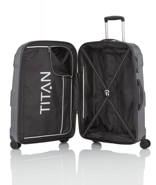 Titan X2 4w Trolley S gunmetal shark (825406 85) - bei kofferwelt.at