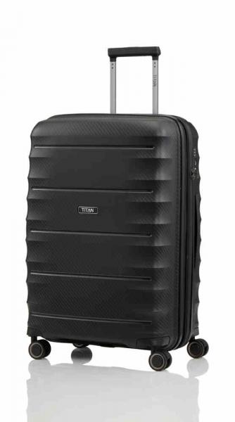 Titan Highlight 4w Trolley M expandable black (842405 01) - bei kofferwelt.at