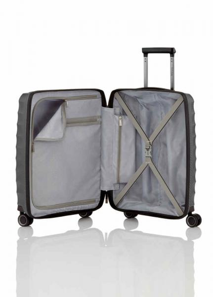 Highlight Trolley S IATA front pocket anthracite  (842409 04) - bei kofferwelt.at