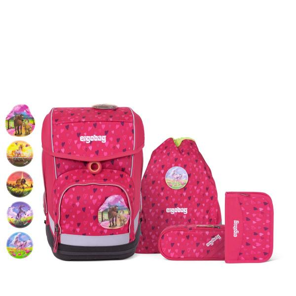 Ergobag Cubo School Backpack Set HorseshoeBear NEW