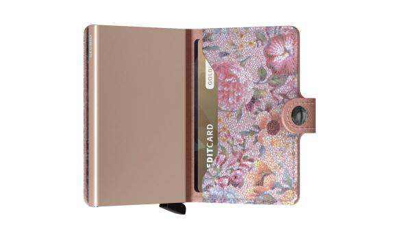 Secrid MINIWALLET Crisple Rose Floral (MC ROSE FLORAL) - bei kofferwelt.at