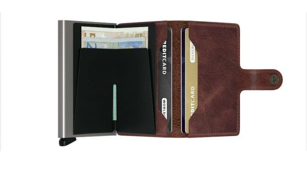Secrid MINIWALLET Vintage brown (MV-BROWN) - bei kofferwelt.at