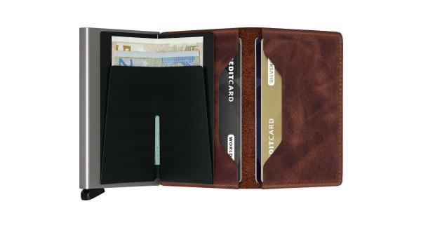 Secrid SLIMWALLET Vintage brown (SV-BROWN) - bei kofferwelt.at