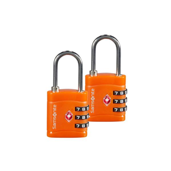 Samsonite Padlock 3Dial TSA orange (121299 1641) - bei kofferwelt.at