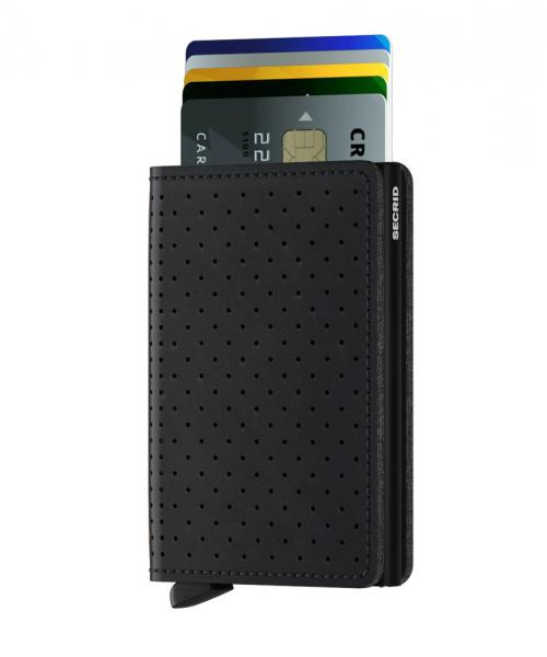 Secrid Slimwallet Perforated Black (SPF BLACK) - bei kofferwelt.at